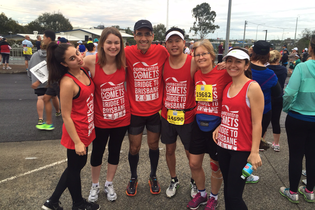 Comscentre Comets raise money for Diabetes Queensland