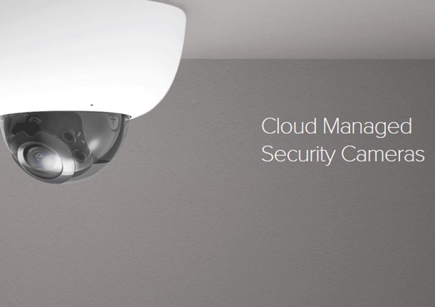 Cloud Managed Security Cameras